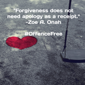 Quote of the week – Forgiveness
