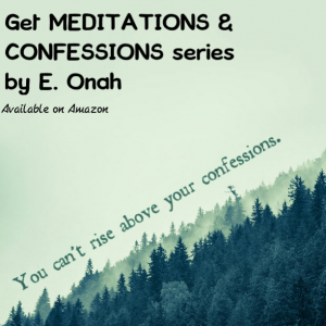 Quote of the week – Confessions