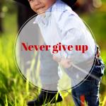 Never Give Up (Never Surrender)