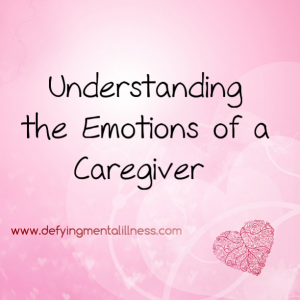 Understanding the Emotions of a Caregiver Spouse