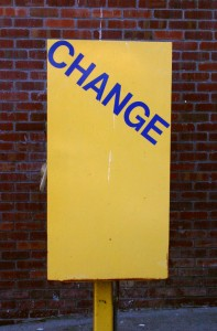 Change Management – How we react to change