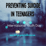 Preventing Suicide in Teenagers