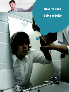 How to Stop Being a Bully