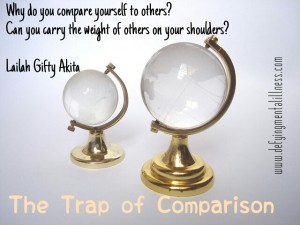 The Comparison Trap – which one could you be in?