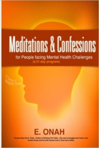 meditations and confessions for mentally ill