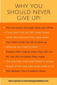 Why you Should Never Give Up – Lessons I Learnt from Chuck