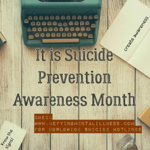 Moving from Suicide Awareness to Suicide Education