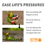 How to Ease Life's Pressures