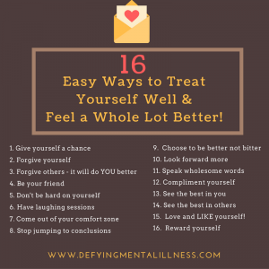 16 Easy Ways to Treat Yourself and Feel instantly better