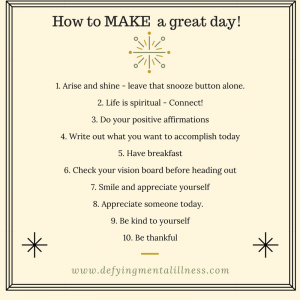 Make a Great Day Every Day