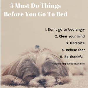 5 Must-Do things before you go to Bed