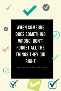 Forgiving your Friend